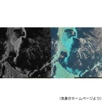 気象庁、「ひまわり8号」の画像を公開 - 解像度が2倍に向上