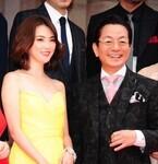 田中麗奈、胸元全開のセクシードレス姿で「水谷さんの魅力にやられました」