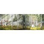 軽井沢に透明な新チャペル「風通る白樺と苔の森」が登場 - 隈研吾らコラボ