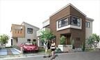 埼玉県越谷市で「デコラティブな箱の家」の新築分譲を開始