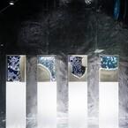 東京都・銀座三越で小山泰介×名和晃平のコラボ作品をショーウインドウ展示