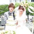 声優の市来光弘と井ノ上奈々が「マチ★アソビ」で公開結婚式、来場者から祝福