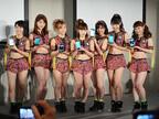 写真で見る富士通「FMV」2015年夏モデル - アップアップガールズ(矢)がスマホ「ARROWS」をアピール
