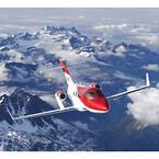 ホンダジェット欧州デビュー  - スイスで開催中のビジネス航空ショーで公開