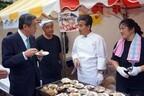 KDDIが東日本大震災の復興支援マルシェを開催