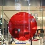 東京都・銀座で資生堂×山口小夜子の特別ディスプレーを展示