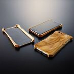 iPhone 6が木製ケースで高音質化!? 「響 - Hibiki -」