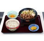 すき家の「すき焼き」が復活! 火を付けたコンロで提供する「牛すき鍋定食」
