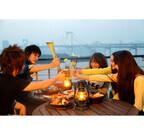 東京都心と横浜でテラスBBQ&ビアガーデンが楽しめるレストランを公開