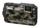 ニコン、F2.8レンズやWi-Fi機能搭載の18m防水デジカメ「COOLPIX AW120」
