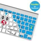 ラナ、MacBookキーボードにドラえもんが出現するデコレーションシール