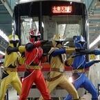 『ニンニンジャー』が京都の地下鉄車両基地で「忍ばず踊ってみた」動画公開