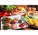 東京都・田町の肉バル「ベル豚」に、テラス席限定「BBQコース」が登場