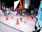京都府で毎年恒例の「京都駅ビル大階段駈け上がり大会」開催