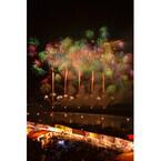 三重県で「伊勢神宮奉納全国花火大会」開催! 連射花火が夜空を彩る