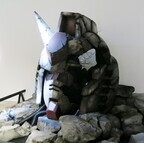「機動戦士ガンダム展」開幕、制作資料1,000点が一挙公開&実物大頭部パーツも