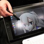 液晶ペンタブレット「Cintiq」シリーズを用いた3Dモデリングを体験 -ワンフェス