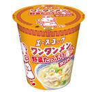 エースコック、「タテロング 野菜たっぷりワンタンメン タンメン味」を発売