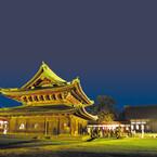 富山の国宝・高岡山瑞龍寺にてテラウチマサト氏の写真展