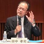 KDDI田中社長がメール障害について陳謝 - 最大で1000万件に影響