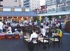 東京都江東区「亀戸梅屋敷」で、「ハイサワー35周年感謝祭」を開催
