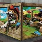 飛び出すモンスター!『ドラクエ8』発売記念、3Dアートが渋谷&新宿にあらわれた