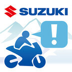 スズキ、iPhone用無料アプリ「ツーリングメッセンジャー」のサービスを開始