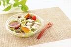 ローソン、管理栄養士が開発した「ごはんの主役になるサラダ」を発売