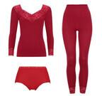 敬老の日に赤い下着を贈ろう! トリンプのインナーに新色「赤」が登場
