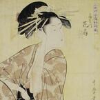 東京都・墨田区の「たばこと塩の博物館」で喫煙風景の浮世絵や喫煙具を展示