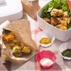 鶏の唐揚げがオシャレに色んな味わいに変化!--秋の行楽弁当アイデアレシピ