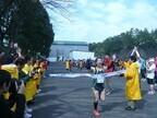 東京都で、オフィスワーカーたちの熱い戦い「丸の内駅伝」開催