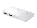 プリンストン、USBからもコンセントからも給電可能なOAタップ