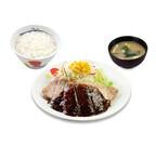 松屋、特製にんにくタレがきいたプレミアムな「豚テキ定食」発売