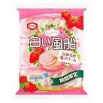 7年ぶりに再登場、「白い風船 なめらか苺クリーム」発売 - 亀田製菓