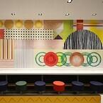 東京都内の3店舗から、マクドナルドの内装デザインが日本オリジナルに