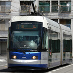 岡山電気軌道、消費税率が引き上げられる4/1以降も路面電車の運賃据置きに