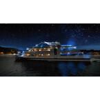 イルミネーション船で日没後の特別運航! 熱海で冬の夜景&花火クルーズ開催