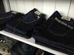 東京都・新橋で、岡山県産のジーンズなど販売する「岡山デニムフェア」開催