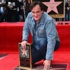 クエンティン・タランティーノ監督、ハリウッドの殿堂入り!