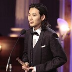 松田龍平、初の最優秀主演男優賞! 父・優作の背中「ずっと追いかけている」