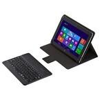 サンワサプライ、Bluetoothキーボード付きの10.1型タブレット汎用ケース