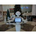 ロボット・Pepperがホテルコンシェルジュに採用! 広島県呉市で勤務中