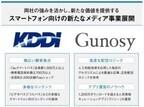 KDDIとGunosyが業務提携、夏から新メディア立ち上げへ