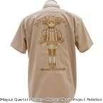 『魔法少女まどかマギカ』鹿目まどか&巴マミの刺しゅうワークシャツを発売