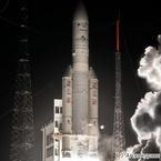 欧州の「アリアン5」ロケット、70機連続打ち上げ成功を達成