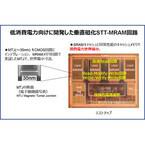 東芝と東大、世界最高の省電力性能を有するプロセッサ用メモリ回路を開発