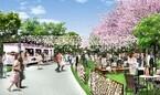 東京都・東京ミッドタウンに野外カフェがオープン - 花見・夜桜にぴったり