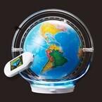 しゃべる地球儀で世界を知る - 液晶付きスタイラスで世界各国をタッチ