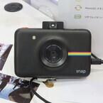デジタルインスタントカメラ「Polaroid SNAP」 - Zero Ink技術を採用